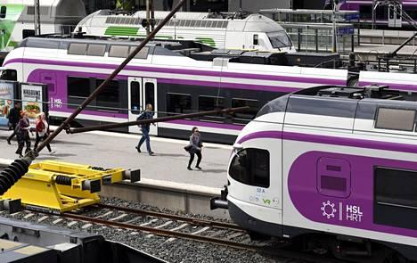 Pääkaupunkiseudun kaupungit omistavat 81 lähijunaa yhteisen Junakalustoyhtiön kautta.