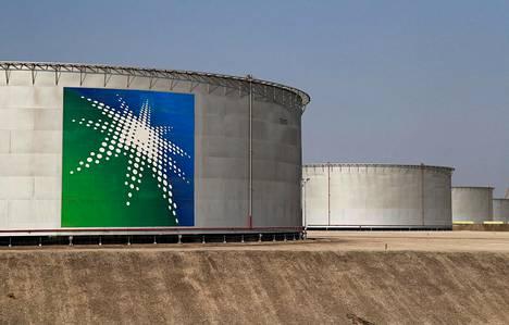 Saudi-Arabian öljyntuotantolaitos Abqaiqissa lokakuussa.