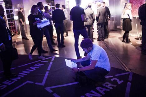Helsingissä vuosittain järjestettävä Slush-tapahtuma kerää yhteen kansainvälisiä startup-yrittäjiä ja sijoittajia.