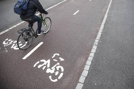 16. tammikuuta: Leuto talvi oli helpotus pyöräilijöille.