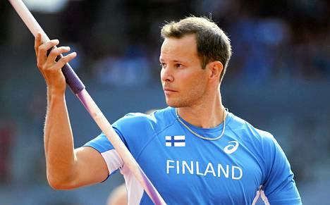 Tero Pitkämäki voitti EM-pronssia kaksi viikkoa sitten Zürichissä.