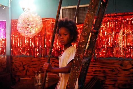 Beasts of the Southern Wild -elokuvan pääosassa on kuusivuotias Hushpuppy (Quvenzhané Wallis).
