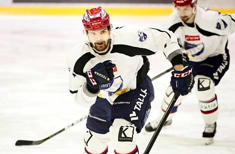 Juha-Pekka Haataja kuuluu Helsingin IFK:n kokeneimpiin pelaajiin.
