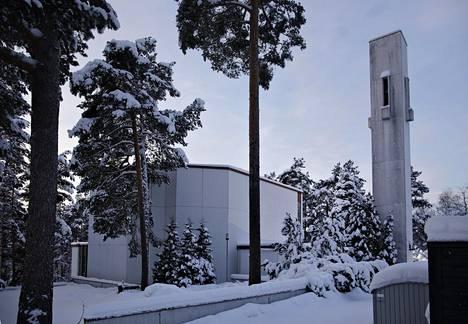 Halssilan seurakuntakeskus on valmistunut vuonna 1969.