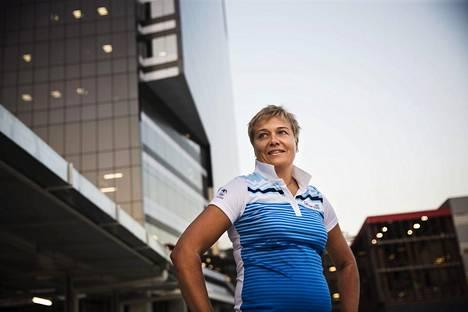 Satu Mäkelä-Nummela kuvattuna Rion olympialaissa vuonna 2016.