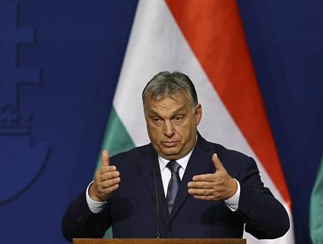 Unkarin pääministeri Viktor Orbán.