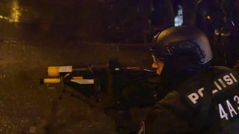 Poliisi käytti viime itsenäisyyspäivänä paineilma-asetta