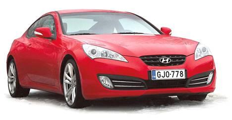 Hyundai Genesis Coupe on tehty ajettavaksi