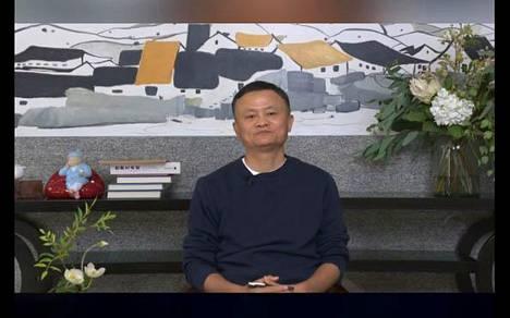 Kuvakaappaus Tianmu News -sivustolla julkaistusta Jack Man videosta.