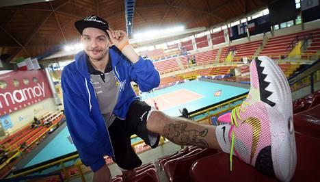 Olli-Pekka Ojansivu on mukana toista kertaa EM-turnauksessa. Hakkurin hyvät esitykset on huomattu kansainvälisestikin.