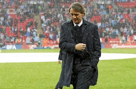 Roberto Mancinin viimeiseksi otteluksi jäi tappio Wiganille FA Cupin finaalissa.