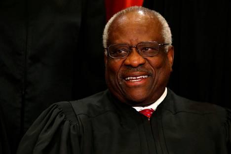 Yhdysvaltain korkeimman oikeuden tuomari Clarence Thomas.
