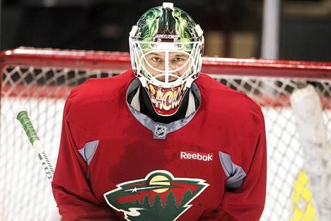 Niklas Bäckström pelaa Minnesota Wildissa.