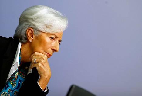 Pääjohtaja Christine Lagarde