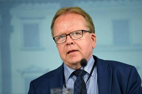 Oikeusministeriön kansliapäällikkö Pekka Timonen.