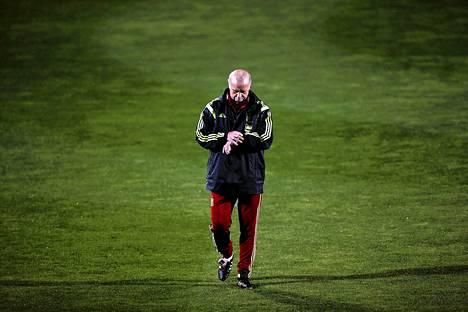 Vicente del Bosque jatkaa Espanjan jalkapallomaajoukkueen valmentajana.