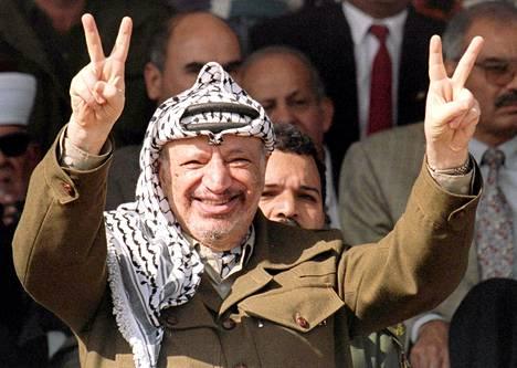 Jasser Arafat.