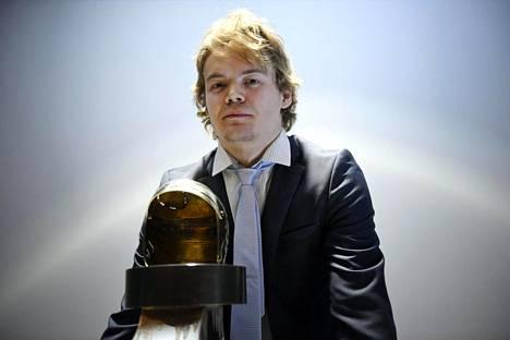 Ville Leskinen valittiin runkosarjan parhaaksi.