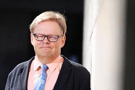 Kansanedustaja Juhana Vartiainen. Kuva vuodelta 2018.