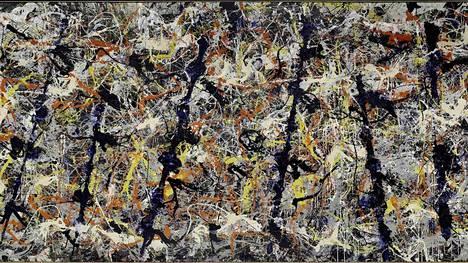 Jackson Pollock: Blue Poles, 1952.