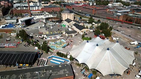 Flow-festivaali järjestettiin viime viikonloppuna Helsingin Suvilahdessa.