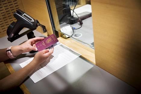Uusien passien hakijamäärät ovat kasvussa.