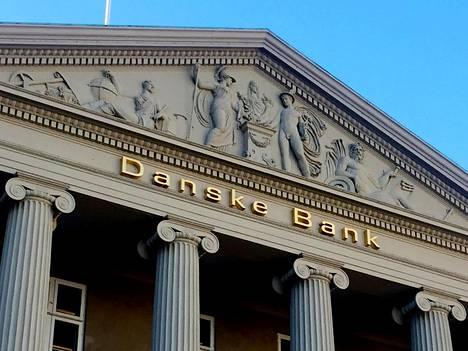Danske Bankin pääkonttori Kööpenhaminassa.