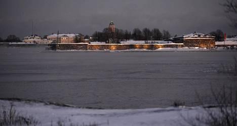 Suomenlinna Helsingissä.