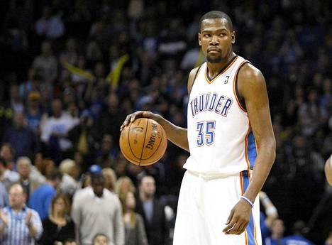 Kevin Durant on ollut Oklahomalle todella tärkeä pelaaja, kun joukkue on voittanut yhdeksän ottelua perättäin.