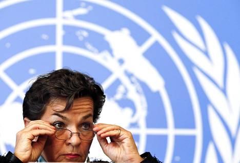 YK:n ilmastokokouksen pääsihteeri Christiana Figueres ei usko talous- ja ilmastoasioiden ristiriitaan.