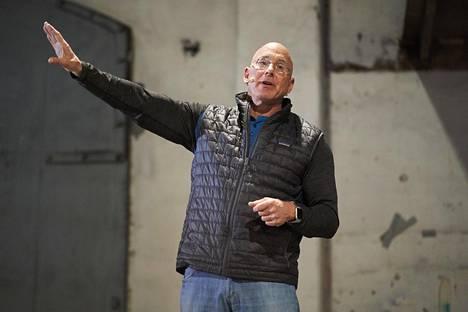 Bruce Oreck on kertonut haluavansa tarjota Vallilan Konepajassa tilaa pienyrittäjille.