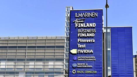 Business Finlandin toimitilat sijaitsevat niin sanotussa Ilmarisen korttelissa Ruoholahdessa Helsingissä.
