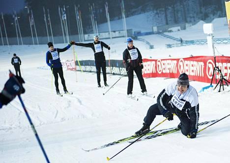 Finlandia-hiihto jatkuu normaaliin tapaan Suomessa. Kuva vuodelta 2017.