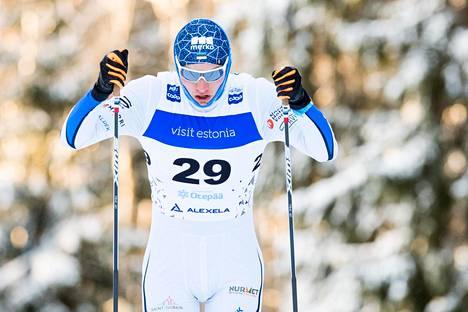 Virolainen Karel Tammjärv sijoittui Otepäässä maailmancupin 15 kilometrin kilpailussa sijalle 18 tammikuun lopulla. Hän jäi kiinni dopingista Seefeldin MM-kisoissa.