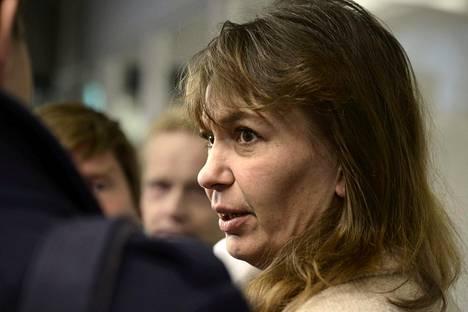 Perussuomalaisten puoluesihteeri Riikka Slunga-Poutsalo.