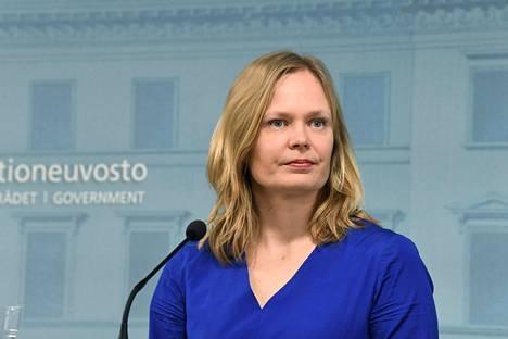 Kulttuuriministeri Hanna Kosonen