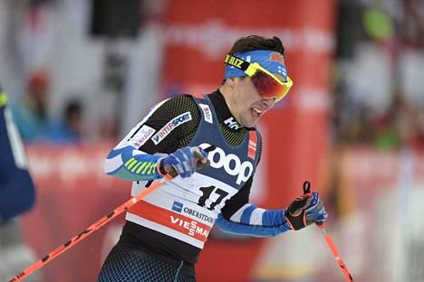 Ristomatti Hakola rutisti kahdeksanneksi Oberstdorfin sprintissä.