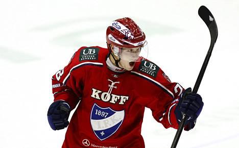 Jasse Ikonen saalisti 16 tehopistettä ennen loukkaantumistaan.