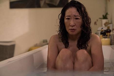 Sandra Oh näyttelee Eve Polastria HBO:n Killing Eve -sarjassa, joka sai yhdeksän Emmy-ehdokkuutta.