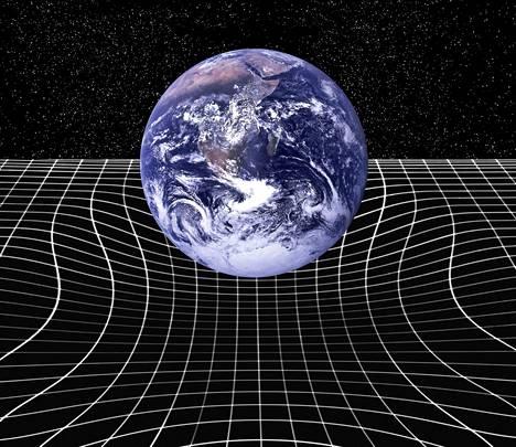Avaruus ei ole tyhjä ja jäykkä laatikko vaan joustava ja venyvä vanukas.
