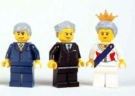 Legon minifiguureita.