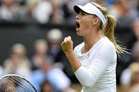 Maria Šarapova ansaitsee naisurheilijoista eniten.