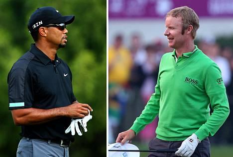 Tiger Woods ja Mikko Ilonen kohtaavat Dubain kisan 3. kierroksella.