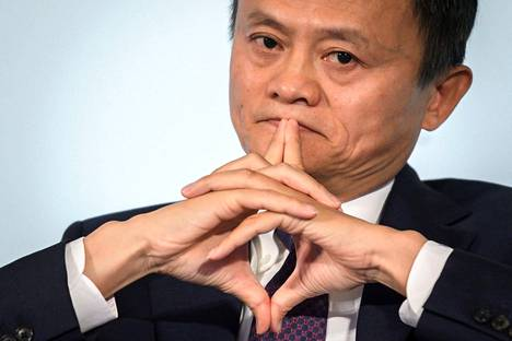 Alibaba Groupin perustaja Jack Ma arkistokuvassa vuodelta 2018.