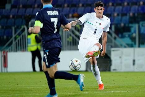 Alessandro Bastoni on vakiinnuttanut paikkansa Italian mestarin Interin avauskokoonpanossa.