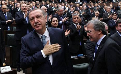 Pääministeri Recep Tayyip Erdogan on johtanut Turkkia yli kymmenen vuoden ajan.