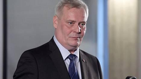 Puheenjohtaja Antti Rinne kertoi jatkohaluistaan Sdp:n puoluevaltuuston kokouksessa lauantaina.