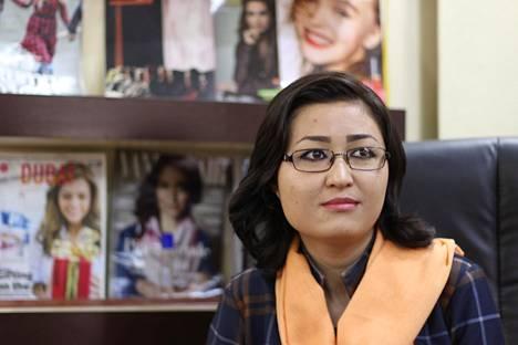Fatana Hassanzada, 23, on Afganistanin ensimmäisen naistenlehden perustaja ja päätoimittaja.