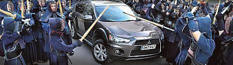 Mitsubishi Outlanderilla on tuima ilme