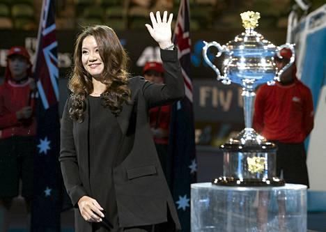 Li Na on Australiassa kunniavieraana.